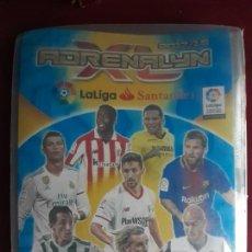 Coleccionismo deportivo: ALBUM CON 4 FICHAS ADRENALYN XL 2016 2017. Lote 221698301