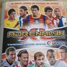 Coleccionismo deportivo: ADRENALYN 2010-11 CONTIENE 319 CROMOS BASICOS TAL COMO SE VE EN LA FOTO. Lote 221713092