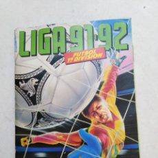Coleccionismo deportivo: ÁLBUM INCOMPLETO LIGA 91-92. Lote 221714377