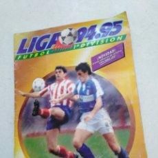 Coleccionismo deportivo: ÁLBUM LIGA 94-95 INCOMPLETO ( FALTAN MUY POCAS) CON TODOS LOS FICHAJES. Lote 221720732