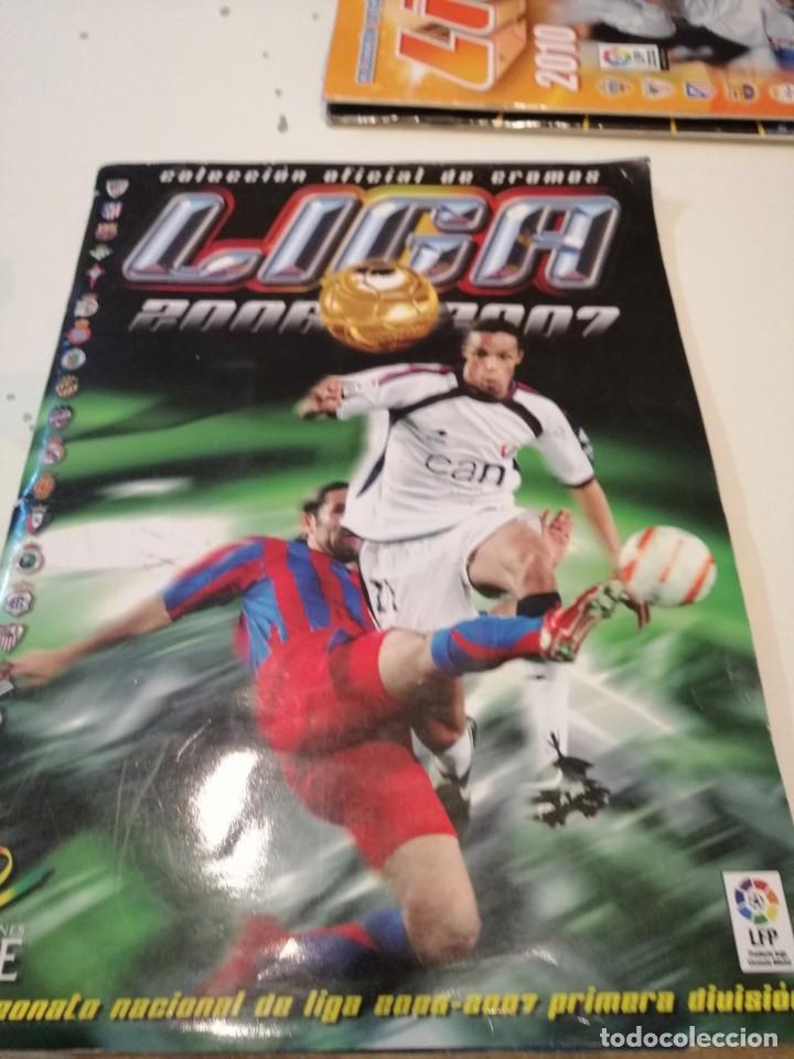 G-46 ALBUM ESTE PANINI FUTBOL LFP 2006 2007 06 07 MUCHOS CROMOS PARA APROVECHAR ALBUM CON TARA VER (Coleccionismo Deportivo - Álbumes y Cromos de Deportes - Álbumes de Fútbol Incompletos)