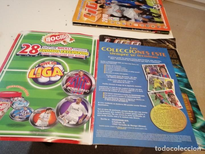 Coleccionismo deportivo: G-46 ALBUM ESTE PANINI FUTBOL LFP 2006 2007 06 07 MUCHOS CROMOS PARA APROVECHAR ALBUM CON TARA VER - Foto 2 - 221838106