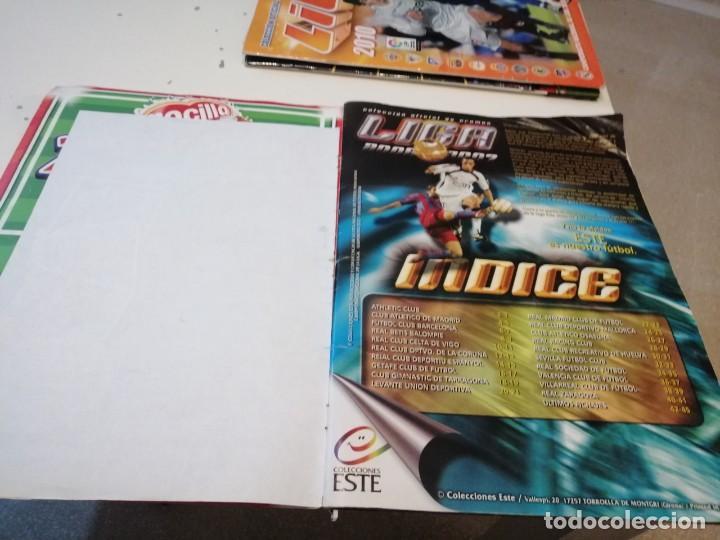 Coleccionismo deportivo: G-46 ALBUM ESTE PANINI FUTBOL LFP 2006 2007 06 07 MUCHOS CROMOS PARA APROVECHAR ALBUM CON TARA VER - Foto 3 - 221838106