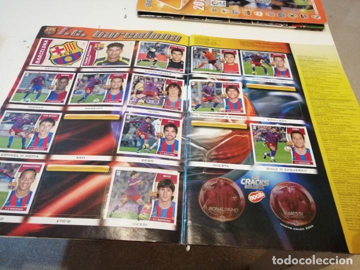 Coleccionismo deportivo: G-46 ALBUM ESTE PANINI FUTBOL LFP 2006 2007 06 07 MUCHOS CROMOS PARA APROVECHAR ALBUM CON TARA VER - Foto 6 - 221838106