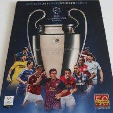 Coleccionismo deportivo: UEFA CHAMPION LEAGUE TEMPORADA 2011 - 2012 - 11 - 12 PANINI - ALBUM OFICIAL. 108 CROMOS.. Lote 221861312