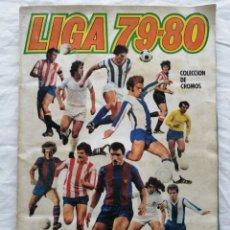 """Colecionismo desportivo: ÁLBUM """"LIGA 79-80"""". Lote 222022446"""