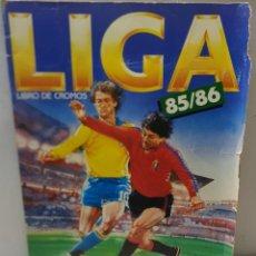 Coleccionismo deportivo: ALBUM LIGA ESTE TEMPORADA 85/86 CON 216 CROMOS ALGUNO ESCASO. Lote 222047236