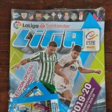 Coleccionismo deportivo: ALBUM FUTBOL LIGA ESTE 2019/2020 - PANINI - CONTIENE 4 SOBRES DE CROMOS (PRECINTADO). Lote 222220588