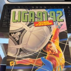 Coleccionismo deportivo: LIGA 91 92 ESTE ALBUM INCOMPLETO CON 96 CROMOS BUEEN ESTADO. Lote 222237661