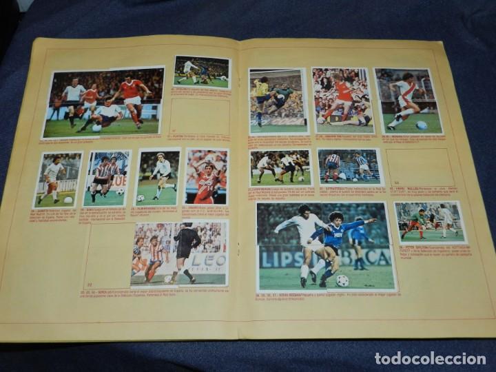 Coleccionismo deportivo: ALBUM CAMPEONATO LIGA 80 81 , EDC ESTE , FALTAN 62 CROMOS, HAY 18 COLOCAS, SEÑALES DE USO - Foto 2 - 222434865