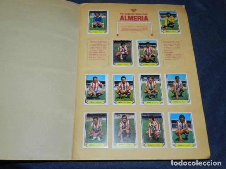 Coleccionismo deportivo: ALBUM CAMPEONATO LIGA 80 81 , EDC ESTE , FALTAN 62 CROMOS, HAY 18 COLOCAS, SEÑALES DE USO - Foto 3 - 222434865