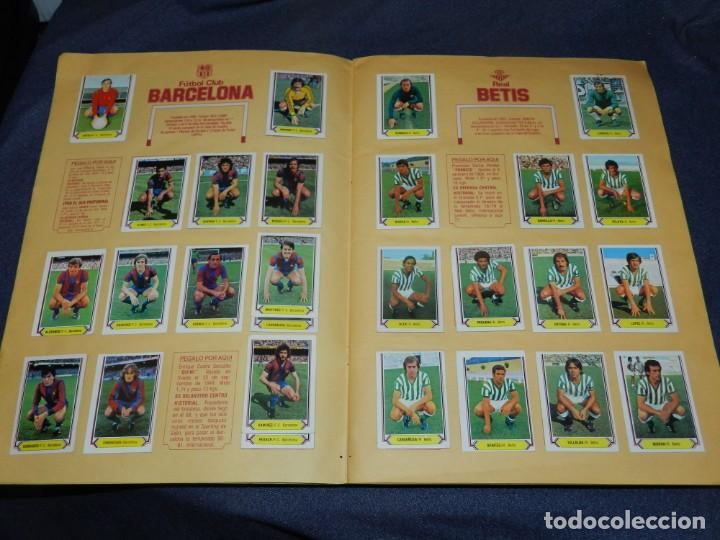 Coleccionismo deportivo: ALBUM CAMPEONATO LIGA 80 81 , EDC ESTE , FALTAN 62 CROMOS, HAY 18 COLOCAS, SEÑALES DE USO - Foto 4 - 222434865