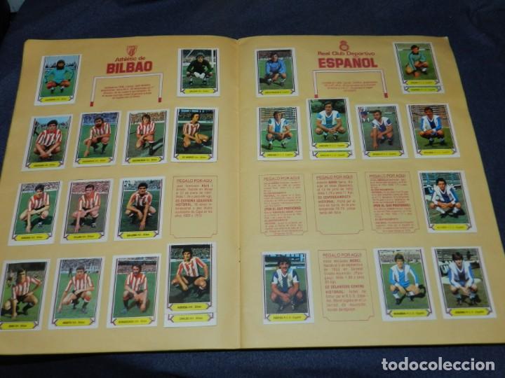 Coleccionismo deportivo: ALBUM CAMPEONATO LIGA 80 81 , EDC ESTE , FALTAN 62 CROMOS, HAY 18 COLOCAS, SEÑALES DE USO - Foto 5 - 222434865