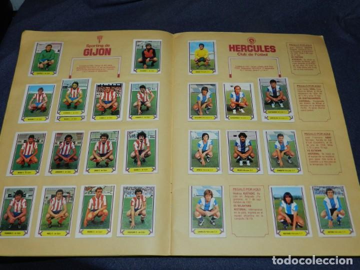 Coleccionismo deportivo: ALBUM CAMPEONATO LIGA 80 81 , EDC ESTE , FALTAN 62 CROMOS, HAY 18 COLOCAS, SEÑALES DE USO - Foto 6 - 222434865