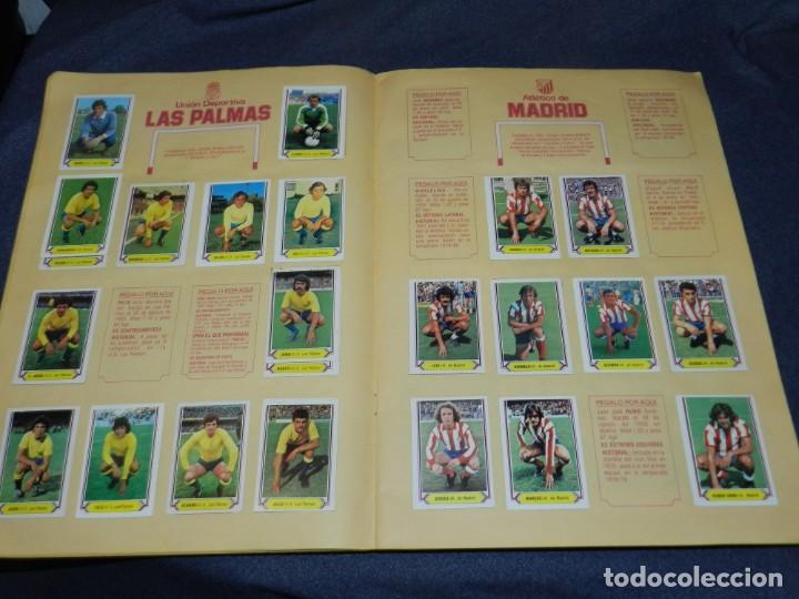 Coleccionismo deportivo: ALBUM CAMPEONATO LIGA 80 81 , EDC ESTE , FALTAN 62 CROMOS, HAY 18 COLOCAS, SEÑALES DE USO - Foto 7 - 222434865