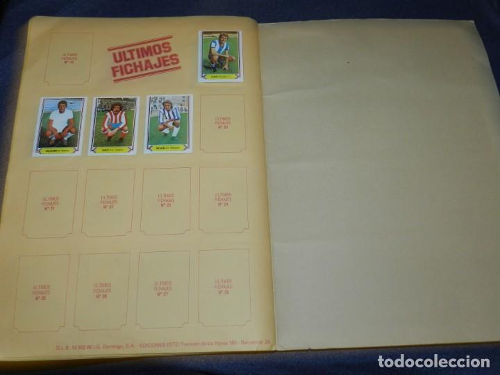Coleccionismo deportivo: ALBUM CAMPEONATO LIGA 80 81 , EDC ESTE , FALTAN 62 CROMOS, HAY 18 COLOCAS, SEÑALES DE USO - Foto 9 - 222434865