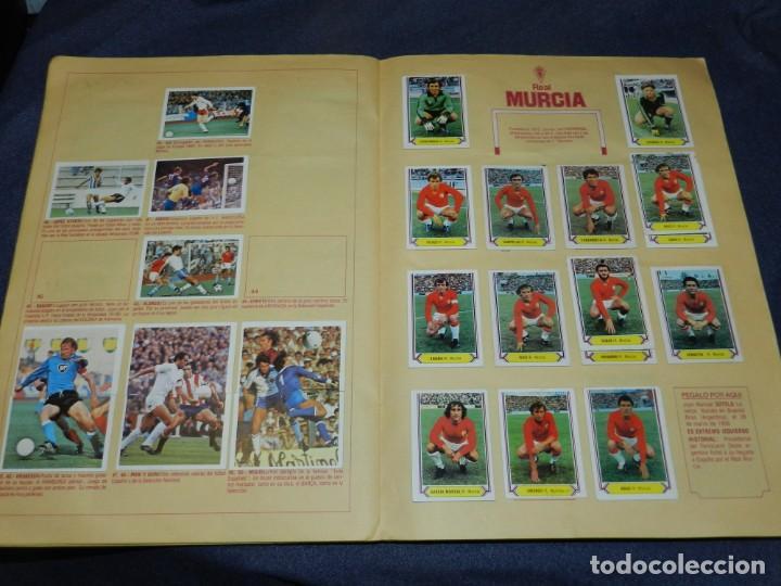 Coleccionismo deportivo: ALBUM CAMPEONATO LIGA 80 81 , EDC ESTE , FALTAN 62 CROMOS, HAY 18 COLOCAS, SEÑALES DE USO - Foto 10 - 222434865