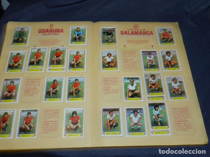 Coleccionismo deportivo: ALBUM CAMPEONATO LIGA 80 81 , EDC ESTE , FALTAN 62 CROMOS, HAY 18 COLOCAS, SEÑALES DE USO - Foto 11 - 222434865
