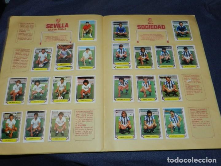 Coleccionismo deportivo: ALBUM CAMPEONATO LIGA 80 81 , EDC ESTE , FALTAN 62 CROMOS, HAY 18 COLOCAS, SEÑALES DE USO - Foto 12 - 222434865