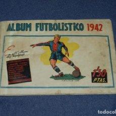 Coleccionismo deportivo: ALBUM FUTBOLISTICO 1942 EDT CISNE 1942 , FALTAN 26 CROMOS, VER FOTOGRAFIAS ADICIONALES. Lote 222545982