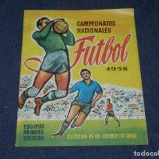 Coleccionismo deportivo: ALBUM PLANCHA - CAMPEONATOS NACIONALES FUTBOL 1958 , EDT RUIZ ROMERO , BUEN ESTADO. Lote 222546571