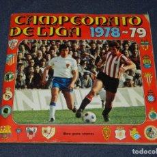 Coleccionismo deportivo: ALBUM CAMPEONATO DE LIGA 1978 - 79 , EDT DISGRA , CONTIENE 216 CROMOS, INCOMPLETO. Lote 222546790