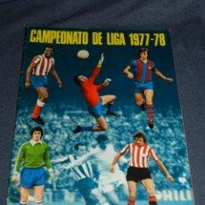 Coleccionismo deportivo: ALBUM CAMPEONATO DE LIGA 1977 / 78 , EDT DISGRA , ALBUM VACIO PLANCHA , MUY BUEN ESTADO. Lote 222546967
