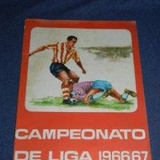 Coleccionismo deportivo: CAMPEONATO DE LIGA 1966 - 67 , DISGRA , ALBUM VACIO PLANCHA, BUEN ESTADO. Lote 222547277