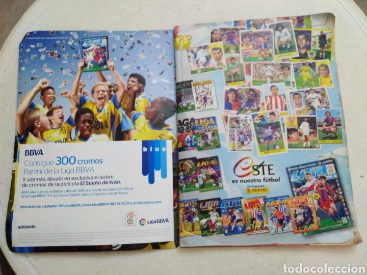 Coleccionismo deportivo: Álbum incompleto liga 2011-2012 ( faltan muy pocos cromos ) - Foto 2 - 222615547