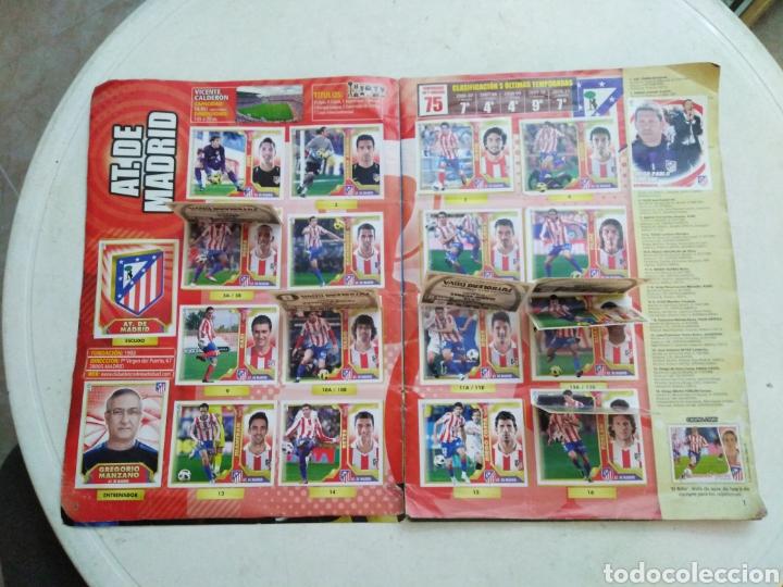Coleccionismo deportivo: Álbum incompleto liga 2011-2012 ( faltan muy pocos cromos ) - Foto 8 - 222615547