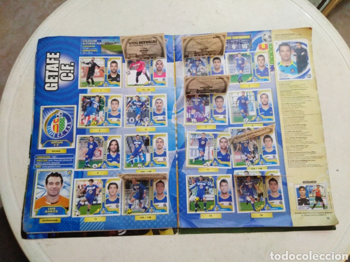Coleccionismo deportivo: Álbum incompleto liga 2011-2012 ( faltan muy pocos cromos ) - Foto 15 - 222615547
