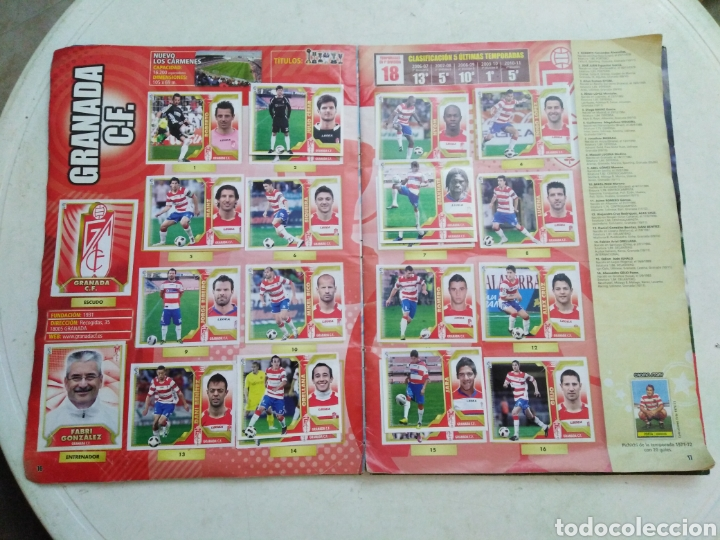 Coleccionismo deportivo: Álbum incompleto liga 2011-2012 ( faltan muy pocos cromos ) - Foto 16 - 222615547