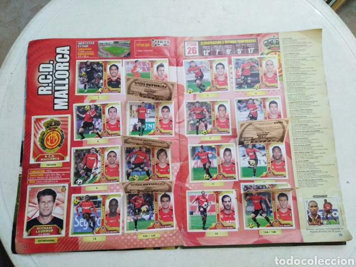 Coleccionismo deportivo: Álbum incompleto liga 2011-2012 ( faltan muy pocos cromos ) - Foto 25 - 222615547