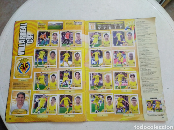 Coleccionismo deportivo: Álbum incompleto liga 2011-2012 ( faltan muy pocos cromos ) - Foto 40 - 222615547