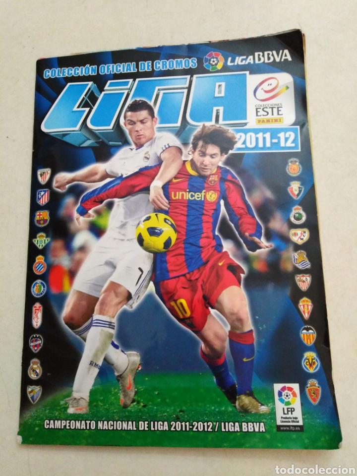 ÁLBUM INCOMPLETO LIGA 2011-2012 ( FALTAN MUY POCOS CROMOS ) (Coleccionismo Deportivo - Álbumes y Cromos de Deportes - Álbumes de Fútbol Incompletos)