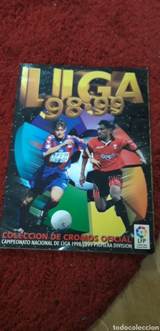 ALBUM 98 99 1998 1999 ESTE CON SERENA.SHUSTIKOV ETC (Coleccionismo Deportivo - Álbumes y Cromos de Deportes - Álbumes de Fútbol Incompletos)