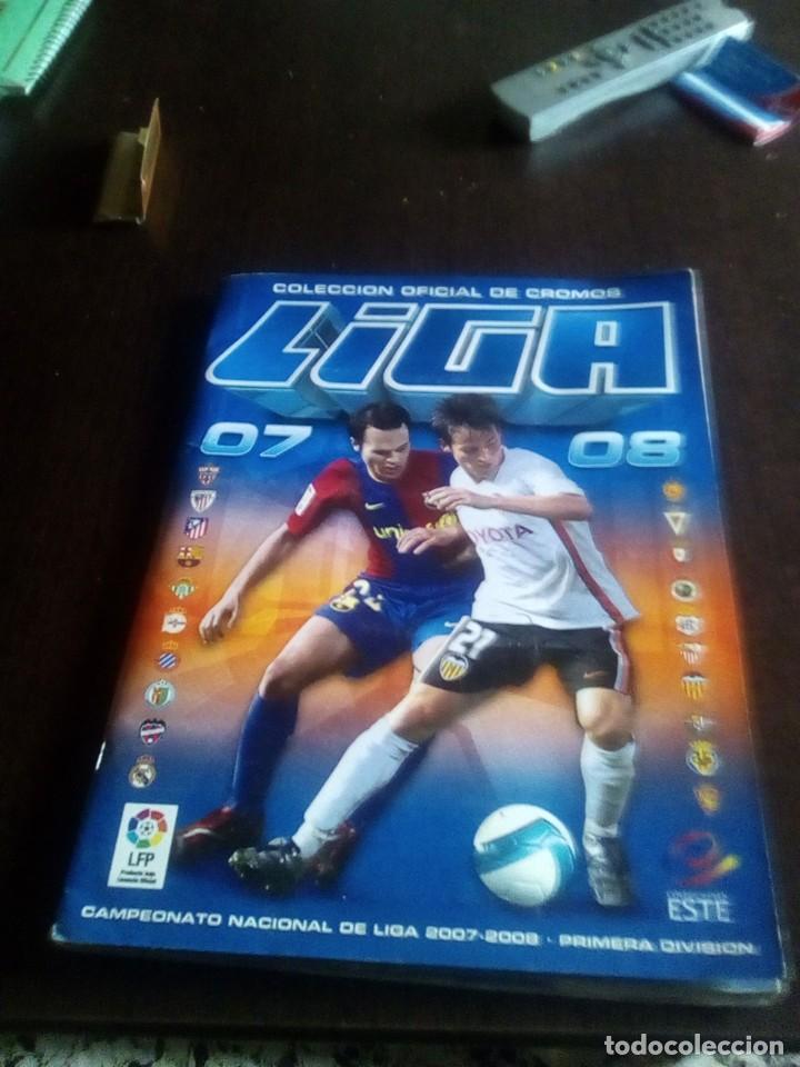 ALBUM INCOMPLETO EDICIONES ESTE 2007-08 (Coleccionismo Deportivo - Álbumes y Cromos de Deportes - Álbumes de Fútbol Incompletos)