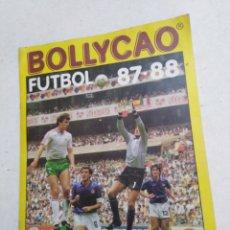 Coleccionismo deportivo: ÁLBUM INCOMPLETO BOLLYCAO, FUTBOL 87-88. Lote 222717771