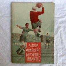 Coleccionismo deportivo: ALBUM MONEDERO DEPORTIVO INFANTIL, ED. SENDA, VACÍO, BIEN CONSERVADO. Lote 222825136