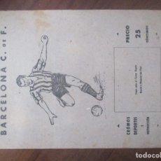 Coleccionismo deportivo: F.C BARCELONA -ALBUM CROMOS DEPORTES E INSTRUCCION VALENCIANA 1941 -FALTAN 3 CROMOS. Lote 222881882