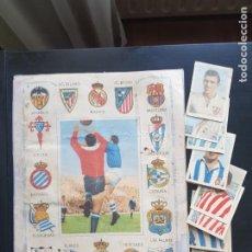 Coleccionismo deportivo: ÁLBUM CROMOS FÚTBOL CHOCOLATES LA PROVINCIAL PROVI Y PINKI / PINKY 1954-1955 CON 15 54-55 SANTANDER. Lote 222884365