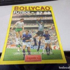 Coleccionismo deportivo: ALBUM DE CROMOS FUTBOL BOLLYCAO 87-88 1987-1978 PANRICO FOTOS DE TODO. Lote 223361178