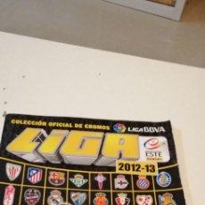 Coleccionismo deportivo: G-90 ALBUM ESTE PANINI FUTBOL 2012 2013 12 13 SIN CROMOS VACIO. Lote 223636021