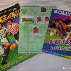 Coleccionismo deportivo: LOTE 3 ÁLBUMES ANTIGUOS VARIADOS / IDEALES PARA AYUDAR A COMPLETAR TU COLECCIÓN ¡MIRA FOTOS! LOTE 11. Lote 223988395