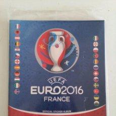 Coleccionismo deportivo: ALBUM FUTBOL PLANCHA UEFA EURO 2016 FRANCE PANINI PRECINTADO. Lote 224326075