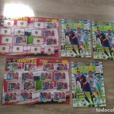 Coleccionismo deportivo: 5 ALBUNES LIGA BBVA ESTE 2013-14. Lote 224442238