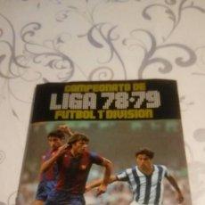 Coleccionismo deportivo: LIGA 78/79 ALBUM MUY COMPLETO. Lote 224625113