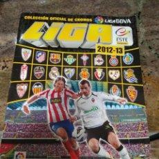 Coleccionismo deportivo: ALBUM LIGA BBVA ESTE 2012-13. Lote 224630143