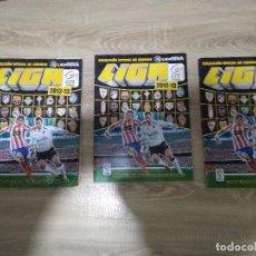 Coleccionismo deportivo: 3 ALBUNES LIGA BBVA ESTE 2012 -13. Lote 224635981