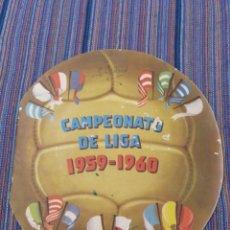 Coleccionismo deportivo: EDITORIAL FHER CAMPEONATO DE LIGA 1959-1960 CON 22 CROMOS PEGADOS. Lote 166397014